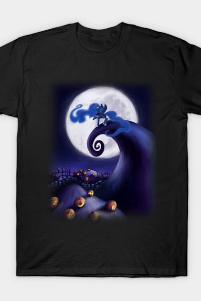 My Little Pony – Princess Luna – The Nightmare Before Christmas T-Shirt