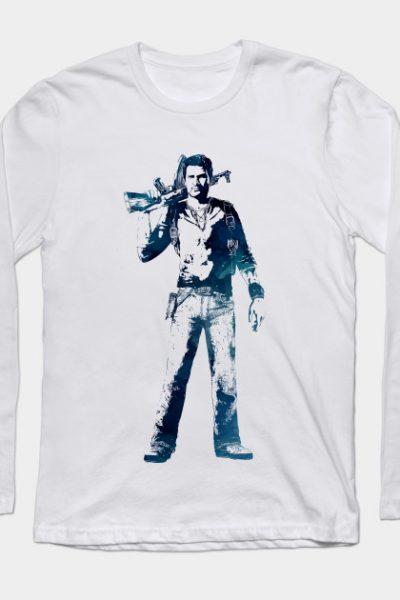 Nathan Drake – Uncharted Long Sleeve T-Shirt