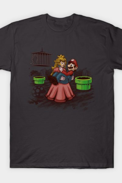 Peach! Mario Needs Your Help! T-Shirt