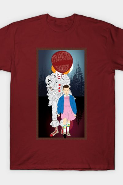 Pennywise and Eleven T-Shirt