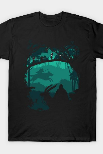 Princess of forest – Princess mononoke T-Shirt