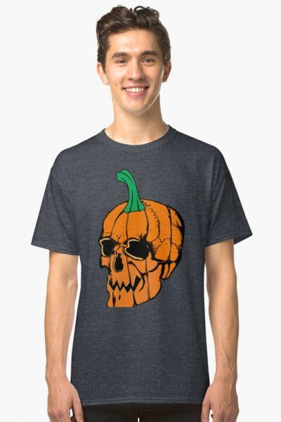 Pumpkin Skull Halloween