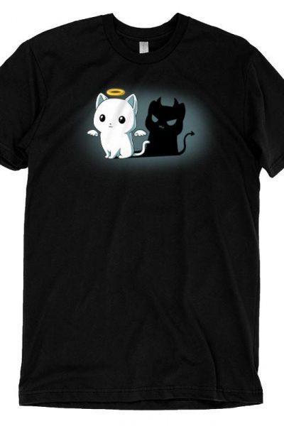 Purr Evil (Black) | Funny, cute & nerdy shirts – TeeTurtle