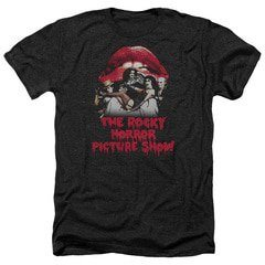 Rocky Horror Picture Show – Casting Throne Heather T-Shirt | TeeShirtPalace