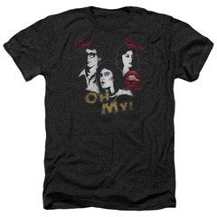 Rocky Horror Picture Show – Oh 3 Ways Heather T-Shirt | TeeShirtPalace