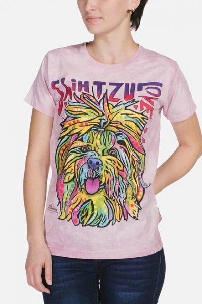 Shih Tzu Luv Womens T-Shirt