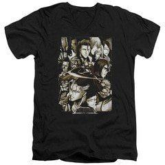 Slice – Bleach V-Neck T-Shirt | TeeShirtPalace