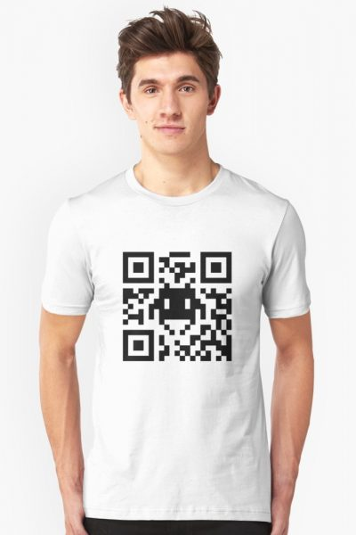 Space Invaders QR Code