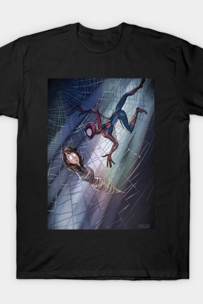 Spiderman Tim Burton Style T-Shirt