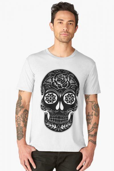 Tattoo Floral Skull
