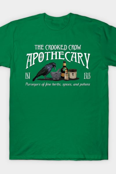 The Crooked Crow Apothecary T-Shirt