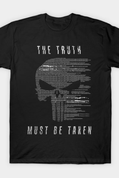 The Punisher – The Truth Must Be Taken T-Shirt