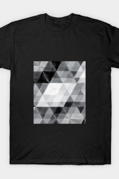 triangle scratch T-Shirt