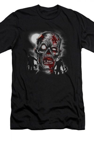 Walking Dead Adult Slim Fit T-Shirt