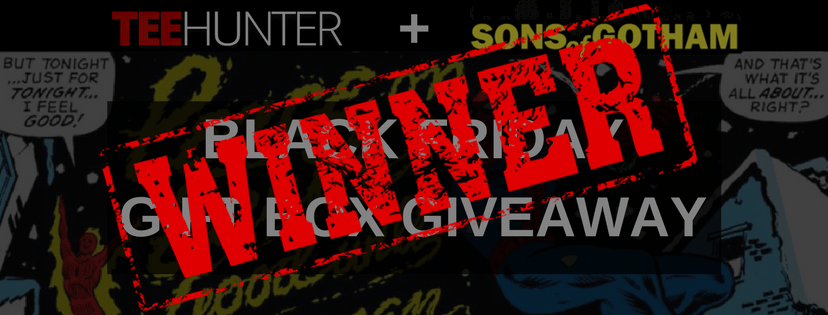 Announcing the WINNERS of the Sons of Gotham Black Friday Gift Box Giveaway!
