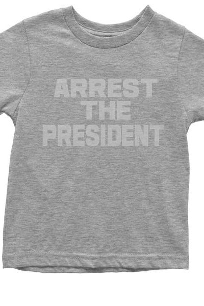 Arrest The President Youth T-shirt