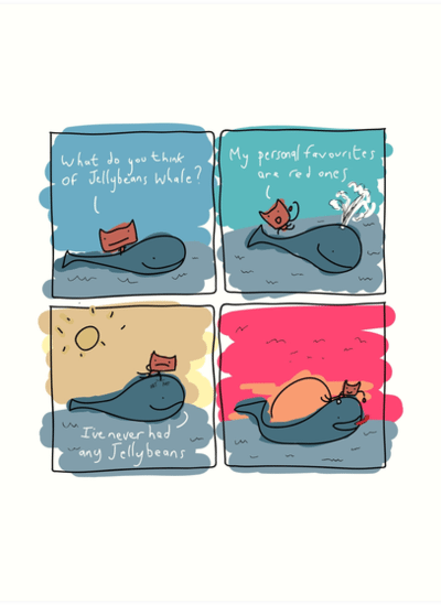 Cat and Whale