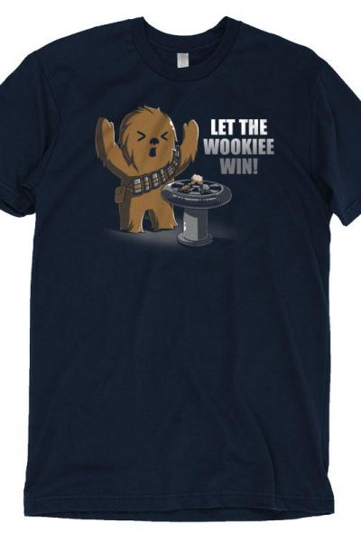 Chewbacca Let the Wookiee Win! T-Shirt | Official Star Wars Tee – TeeTurtle