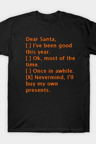 Christmas funny sayings text t-shirt