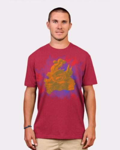 Colorful Dragon Explosion t-shirt