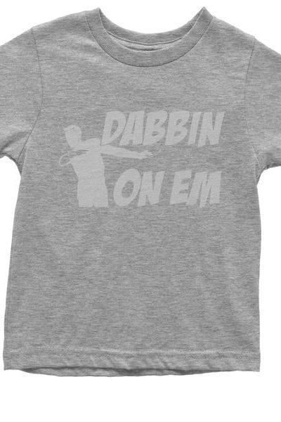 Dabbing On Em Youth T-shirt