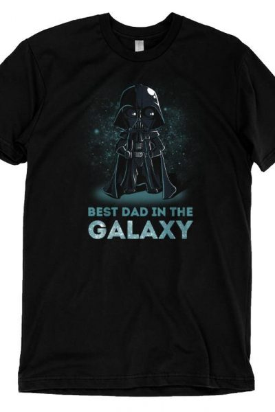 Darth Vader Best Dad in the Galaxy t-shirt | Official Star Wars tee – TeeTurtle