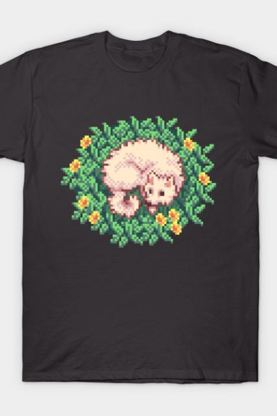 Dog Resting in Meadow T-Shirt