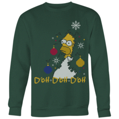D'oh D'oh D'oh Ugly Christmas Sweater – Curious Rebel