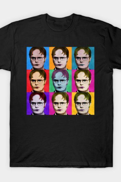Dwight Schrute Diptych T-Shirt