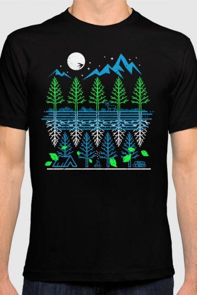 Flight OF Nature T-shirt by therocketman