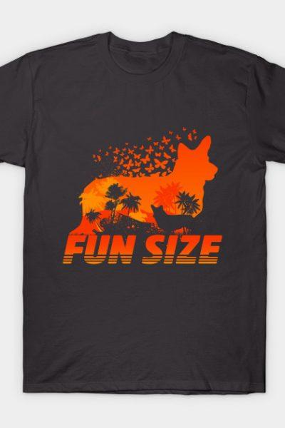 Fun Size Corgi Silhouette T-Shirt