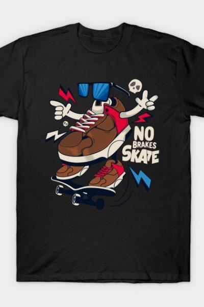 Funny sneakers skate T-Shirt