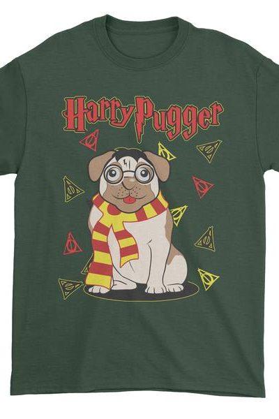 Harry Pugger Ugly Christmas Holiday  Mens T-shirt