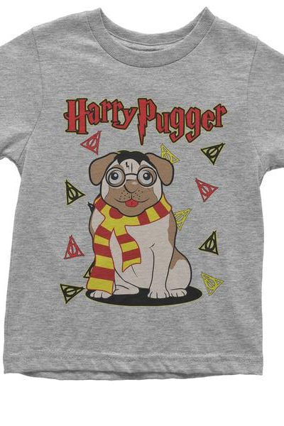Harry Pugger Ugly Christmas Holiday  Youth T-shirt