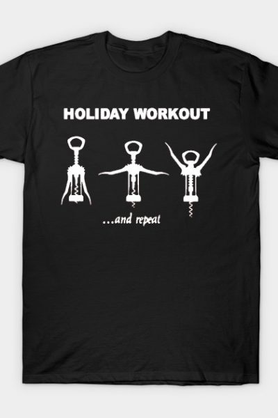 Holiday funny t-shirt design