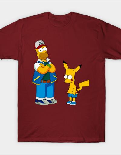 Homerash and Bartachu by mixtedworld