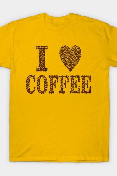 I Love Cofee T-shirt