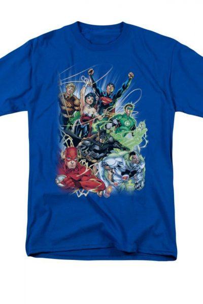 Justice League – Justice League #1 Adult Regular Fit T-Shirt