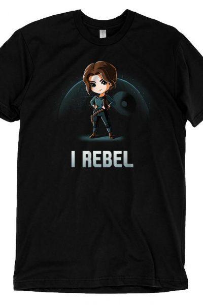 Jyn Erso I Rebel T-Shirt | Official Star Wars Tee – TeeTurtle