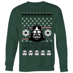 Lack of Cheer Ugly Christmas Sweater – Curious Rebel