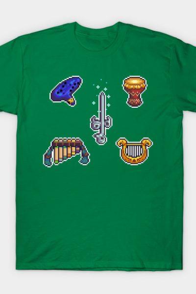 Legend of Zelda Instruments T-Shirt