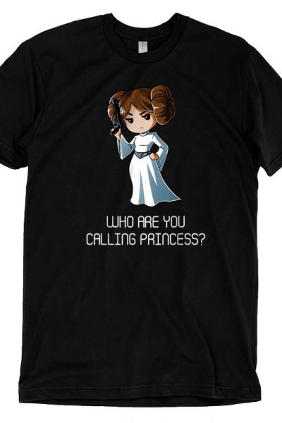 Leia Who Are You Calling Princess? T-Shirt | Official Star Wars Tee – TeeTurtle