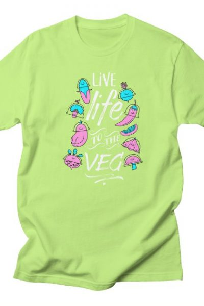 Live Life to the Veg | Porky Roebuck Artist Shop
