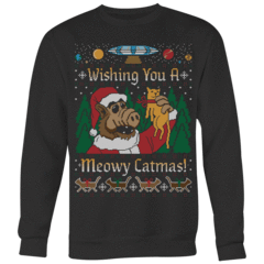 Meowy Catmas Ugly Christmas Sweater – Curious Rebel
