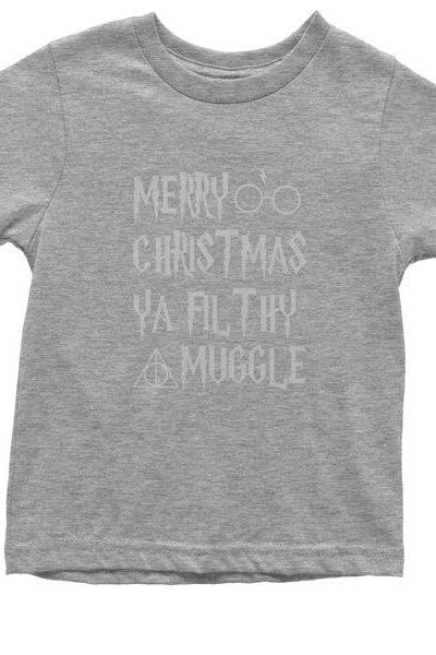 Merry Christmas Ya Filthy Muggle Youth T-shirt