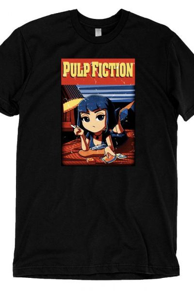 Mia Wallace Pulp Fiction T-Shirt | Official Pulp Fiction Tee – TeeTurtle