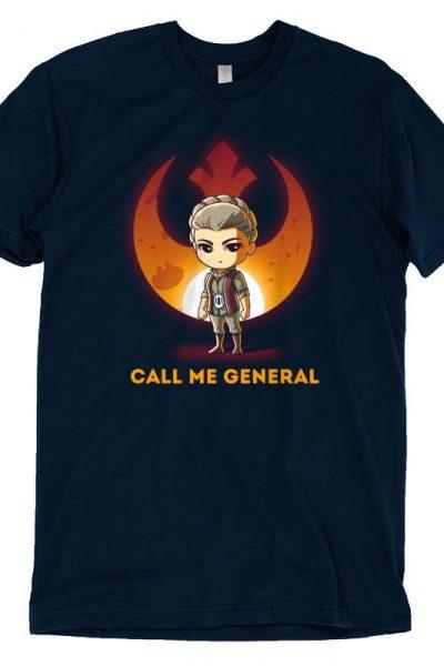 Official Star Wars Tee | General Leia Organa – TeeTurtle