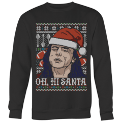 Oh, Hi Santa Ugly Christmas Sweater – Curious Rebel