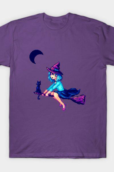 Pixel Witch's First Flight T-Shirt
