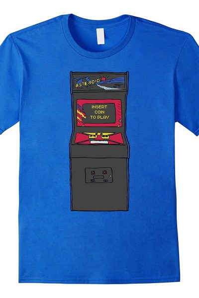 Retro Arcade Machine Video Game Graphic